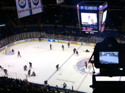 NY Islanders vs. Rangers Timelapse with Kessler Crane Second Shooter